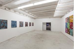 La Tempesta Perfetta, Nanni Balestrini, 2015 installation view