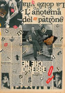 La dolze vita, 1962, 56x40