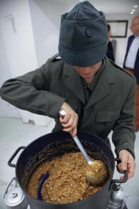 Pic Nic o Il Buon Soldato, Fabio Mauri, soldato
