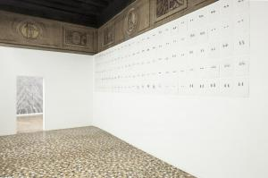 You are the music while the music lasts, Mariateresa Sartori, 2013, installation view