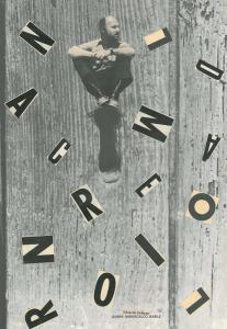 Quindici - cm.40x30, 1969 - collage su carta