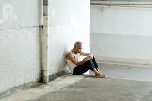 Francesco Jodice, The Sleepers, Tokyo, Hong Kong, #004, 2011