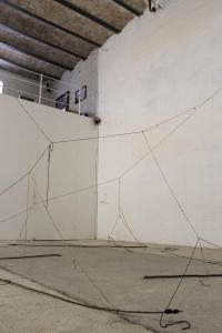 Michael Hoepfner, installation view, 2016, dettaglio