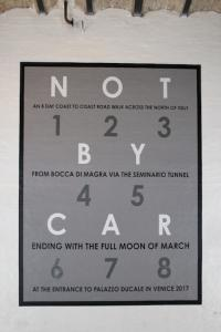 Not by car, 2017, 510 x 410 cm