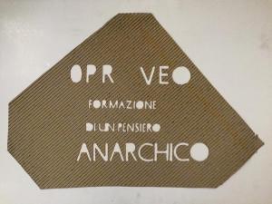 Prove, formazione di un pensiero anarchico , 1995 cm 80 x 55, cartone