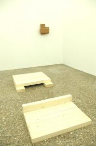 Richard Nonas, 2012, installation view