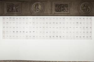 1 minuto e 15 secondi di sguardo dei disegnatori, Mariateresa Sartori, 2013