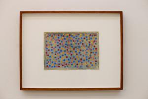 Counting 343 coloured dots, Sardinia, 2014