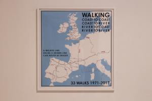 33 walks map. (Weatern Europe), 1971 - 2017
