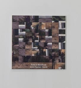 Giovane, della serie Scomposizioni, Nanni Balestrini, 2015, particolare Scomposizioni