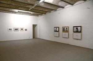 Immagine, Hamish Fulton e Mauro Ghiglione, 2014, installation view