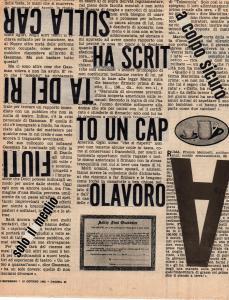 LETTERE - Ha scritto, 1962, 27x22-1