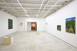 SOMERSAULT installation view prima stanza