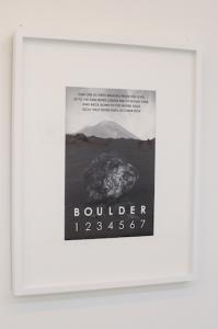 Boulder, Sicily, 2014