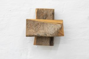 Richard Nonas, Untitled, legno