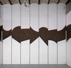 David Tremlett, Wall Drawing