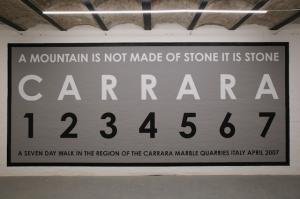 Carrara, 2007, 700 x 310 cm