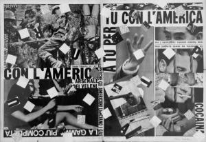 Con l'America, 1965, 56x80