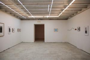 Hamish Fultn, Unlike a drawn line a walked line can never be erased. Prima sala, installation view