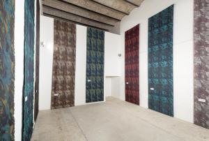 La Tempesta Perfetta, Nanni Balestrini, 2015, installation view