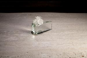 Agape, Murano 2015, scultura in cristallo