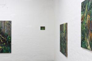 SOMERSAULT installation view stanza superiore