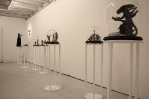 The Other, Sebastiano Mauri, Serie Gods vs Aliens, 2014, installation view