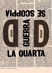 La quarta guerra, 1967, 26 x 19 cm