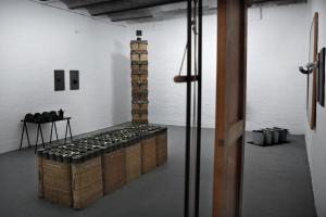 Pic Nic o Il Buon Soldato, Fabio Mauri, installation view sala superiore