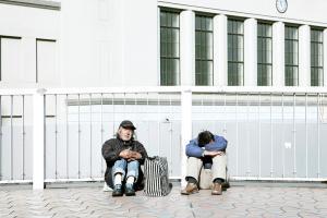 Francesco Jodice, The Sleepers, Tokyo, Hong Kong, #001, 2011