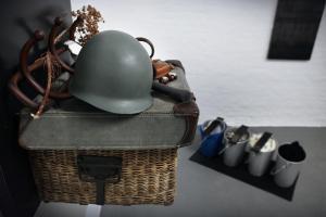Pic Nic o Il Buon Soldato, Fabio Mauri, dettaglio