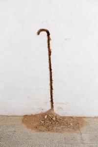 Carcere d'invenzione VIII, Federico De Leonardis, Pastorale, o il viandante e la sua ombra, 1987, particolare