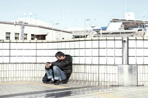 Francesco Jodice, The Sleepers, Tokyo, Hong Kong, #002, 2011