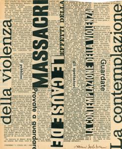 La violenza, 1968, 22x27