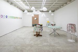 AS A UFO, Installation view, prima sala
