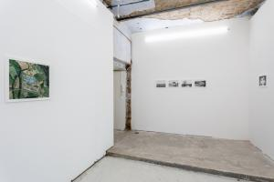 AS A UFO. Installation view, ingresso