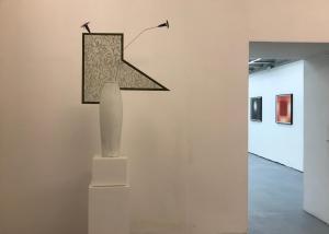 Installation View, Brian Eno David Tremlett, Collaborative Work   Brian Eno, Etchings