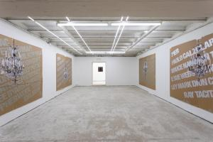 Prima Sala, Names_Installation view