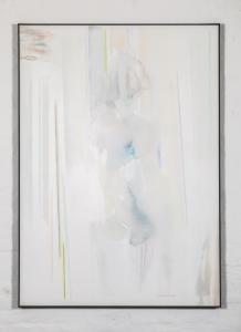 Riccardo Guarneri, Non è una Figura (Non è un Uomo), 2003. Materiali Misti su tela. 100 x 140 cm