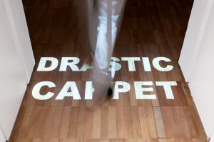 Antoni Muntadas, Drastic Carpet, 1982