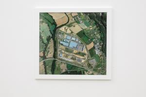 Untitled (No light), fotografia in cornice 42,5 x 46 cm