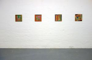 Together we stand!, Lucio Pozzi, installation view