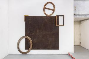 Maurizio Pellegrin - The Red, the Black and the Other - installation view 1