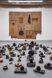 Maurizio Pellegrin - The Red, the Black and the Other - installation view 11