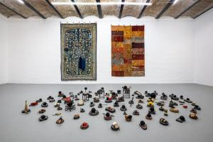 Maurizio Pellegrin - The Red, the Black and the Other - installation view 12