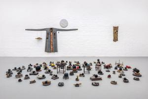 Maurizio Pellegrin - The Red, the Black and the Other - installation view 13