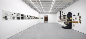 Maurizio Pellegrin - The Red, the Black and the Other - installation view 2