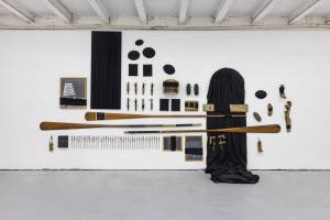 Maurizio Pellegrin - The Red, the Black and the Other - installation view 3