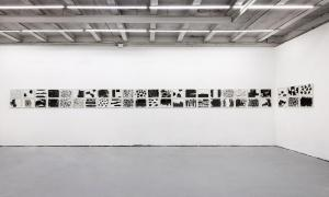 Maurizio Pellegrin - The Red, the Black and the Other - installation view 4