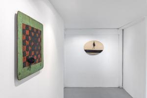 Maurizio Pellegrin - The Red, the Black and the Other - installation view 5